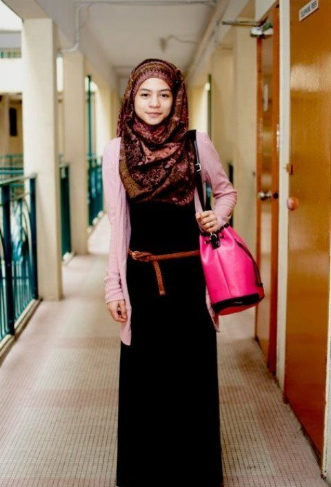 New Scarf And Hijab Styles Trend For Women Collection 2013 (6)