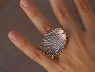Ring by  Nikki Stott  in silver & copper