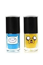 Adventure Time Finn & Jake Nail Polish 2 Pack Sku 158627