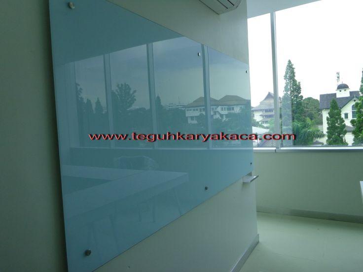 papan tulis kaca - glassboard