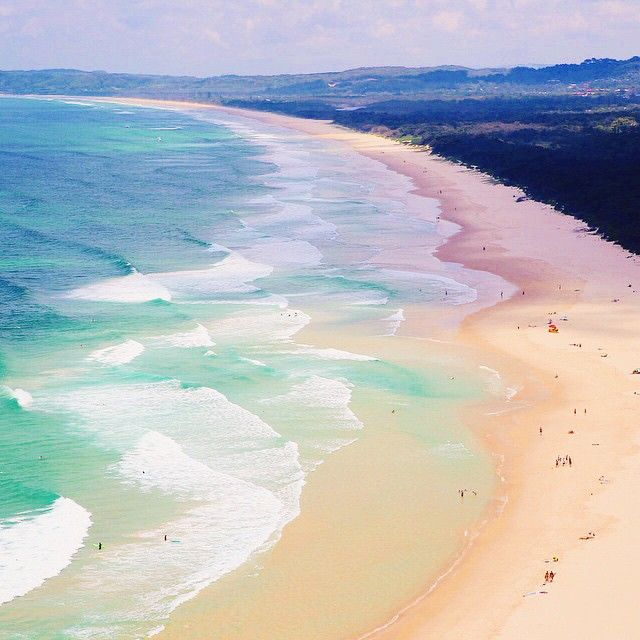Miles of sandy crescents put Byron Bay high on the must-see list for beachcombers and surfers lured by the omnipresent swells at Wategos and The Pass. And this tight-knit community nearly 500 miles up the eastern coast from Sydney happily welcomes travelers into its midst. Photo courtesy of readysetjetset on Instagram.