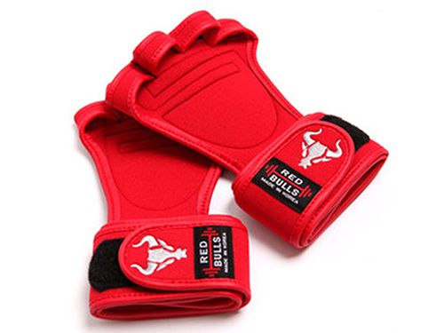 workout gloves-red