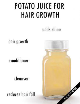 POTATO JUICE FOR HEALTHY HAIR GROWTH