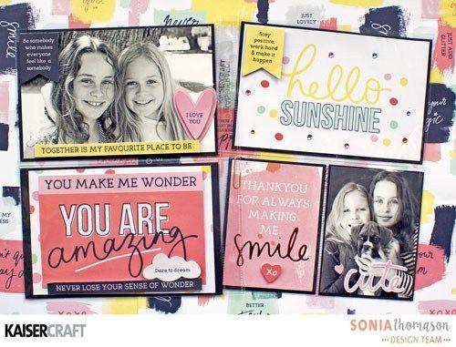 Group Post Featuring Daydreamer Sticker Sheet - Kaisercraft Official Blog