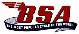 BSA Motorcycle History - Timeline