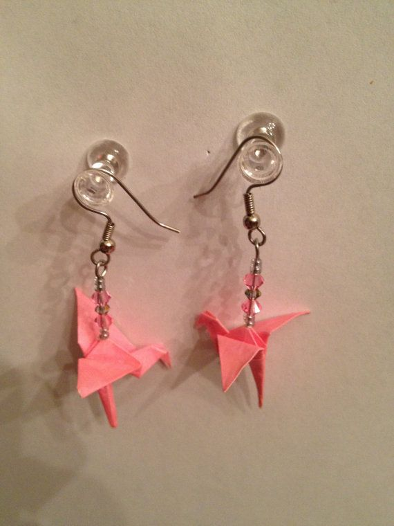 Pink Flamingo Earrings   $10