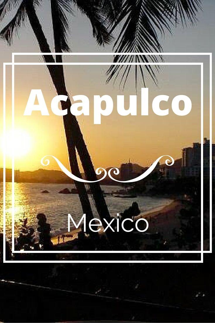 Acapulco is a tourist destination on the West Coast of Mexico. It's famous for it's coastline of highrise hotels and nightclubs.