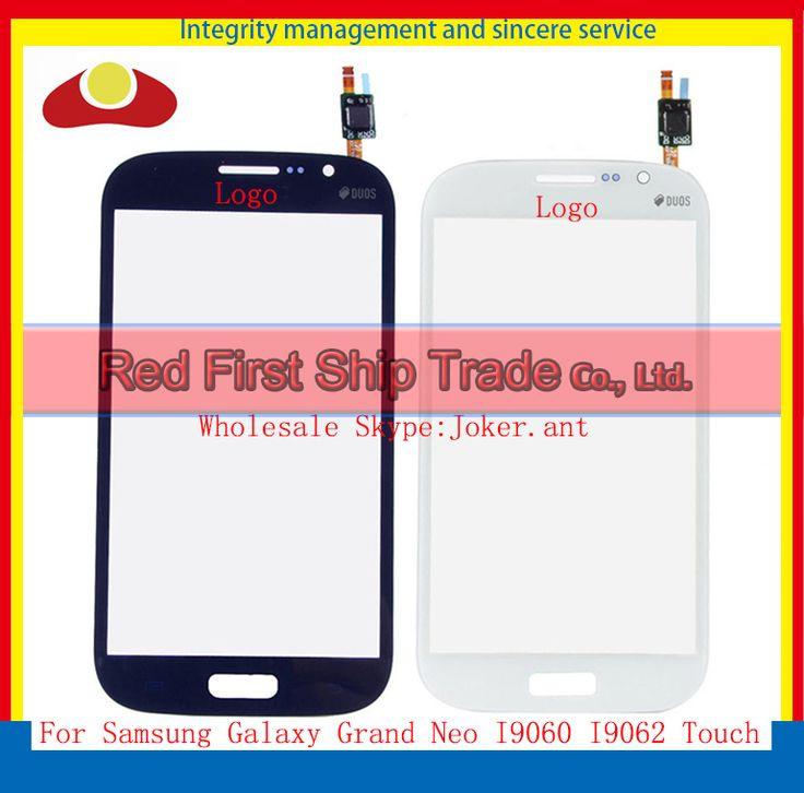 Hoge Kwaliteit Voor Samsung Galaxy Grote Neo I9060 I9062 i9063 Touchscreen Digitizer Sensor Voor Glas Lens Zwart Wit + Tracking