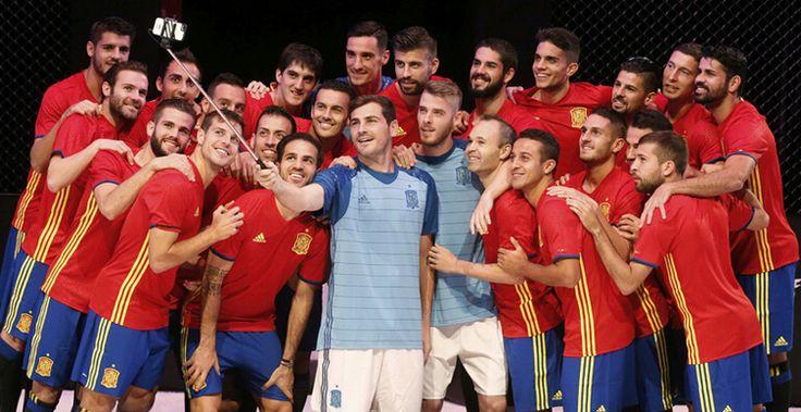 La selección de fútbol de España en Eurocopa de Francia 2016