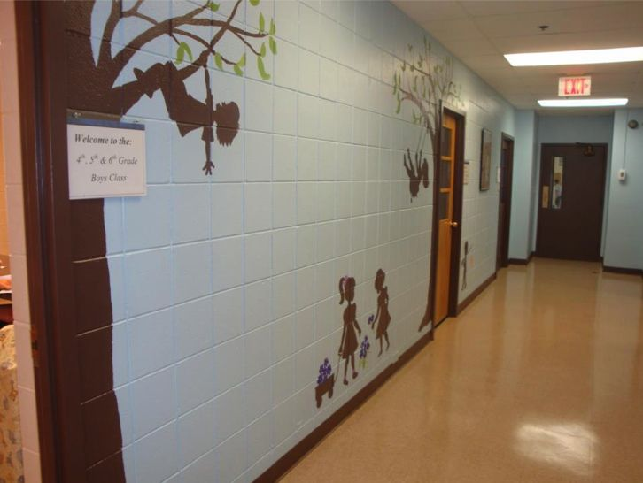 For Kids Or Adults This Is An Easy, Do It Yourself Mural. Part 92