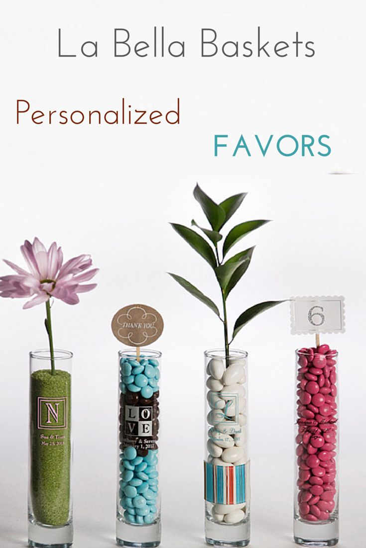 Free Personalized wedding favors or centerpiece. #weddings