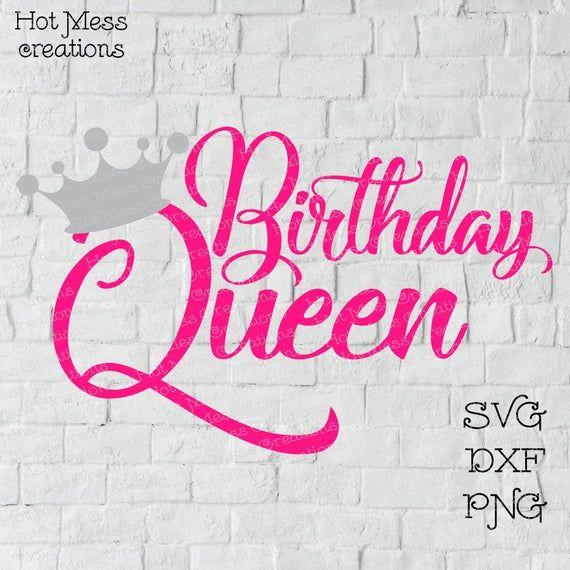 15th Birthday SVG files for Cricut Birthday Gift 15th Birthday png dxf clipart files svg Birthday Queen 15th Birthday svg