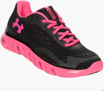 Under Armour Spine Power in Pink Women's Running Shoes - Polyvore
