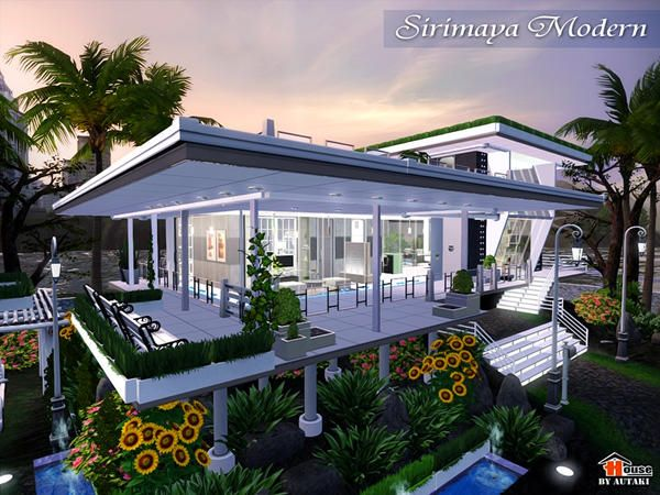 Sirimaya Modern house by autaki  Find this Pin and more on The Sims 3 house  design. 229 best The Sims 3 house design images on Pinterest   The sims