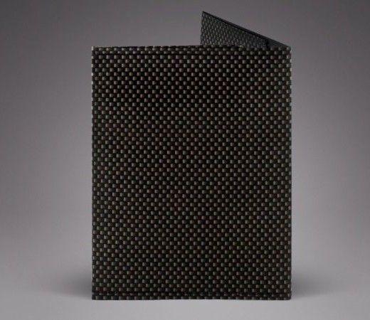 Dark Wave Unisex Slim Wallet