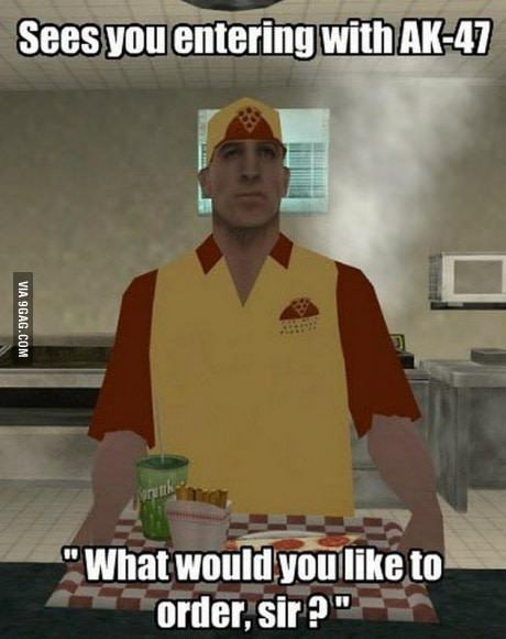 The most chilled guy of GTA...