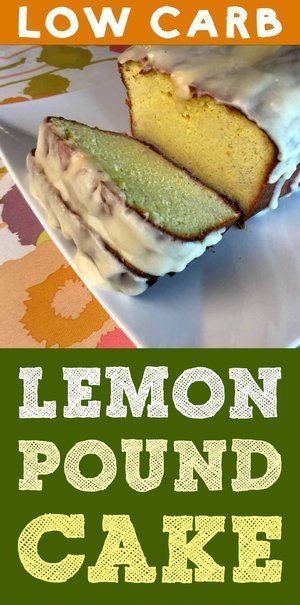 This is a low carb take on a classic English pound cake. It's a moist almond flour cake with a subtle lemon flavor. It's low carb, keto, Atkins, Banting, LCHF, THM, gluten free and sugar free. It's truly delicious. #recipe #dessert #cake #diet #healthy
