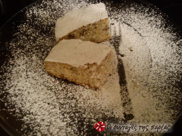 Φανουρόπιτα Μοναστηριακή μαζί με την Ευχή #sintagespareas lenten cake