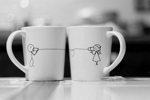 ¡Para un martes frío, un café con compañía!