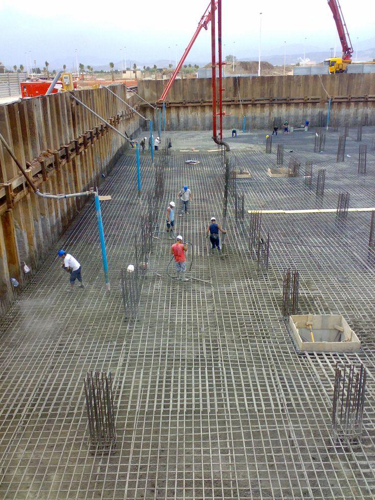 Muestreo de hormigón fresco mediante la realización de probetas de hormigon in-situ. www.mglobal.es