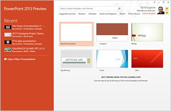 Microsoft is unveiling new PowerPoint 2013 with a lot of new features...