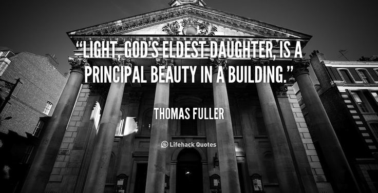 A quote by Thomas Fuller. A design mantra that we work and live by.