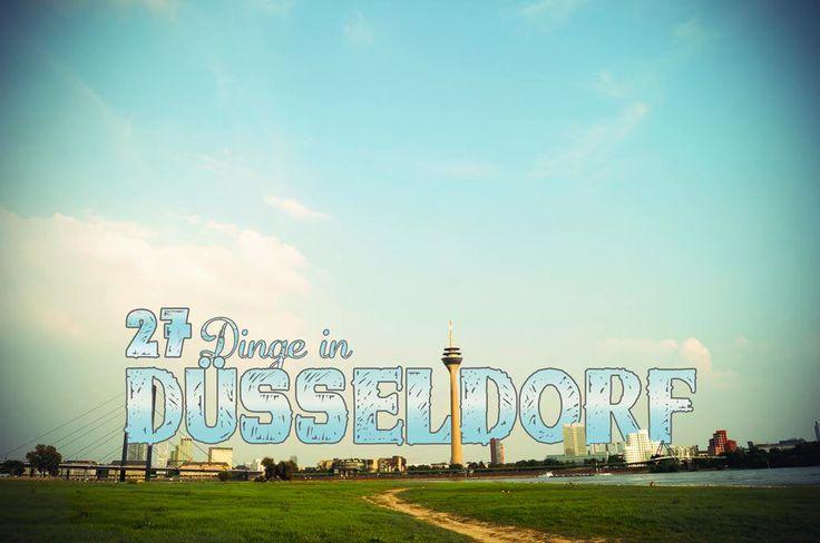 Was tun in Düsseldorf? Vergesse die typischen Sehenswürdigkeiten. Diese 27 Düsseldorf Tipps zeigen die alternativen und coolen Ecken der Landeshauptstadt.