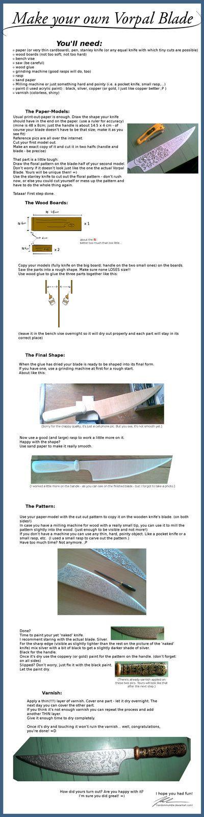 Vorpal Blade Mini-Tutorial by RandomMumble on deviantART