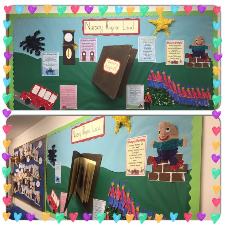 Nursery rhyme display