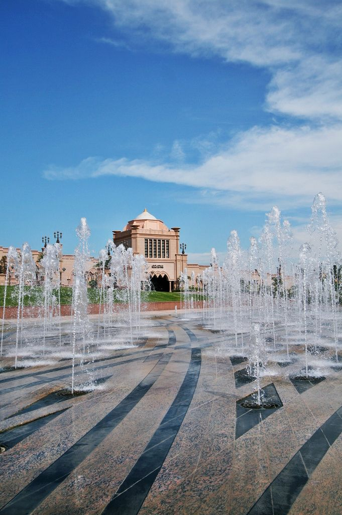 Emirates Palace - 10 Things to do in Abu Dhabi on your next Travel; I read Spring or Fall is the best time to visit this area.