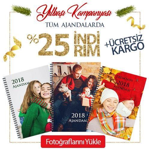 Büyük Yılbaşı Kampanyası! Tüm Ajandalarda %25 indirim. 12 ay ve ön/arka kapaklarla toplam 14 tasarlanabilir sayfa içerir.