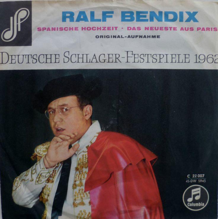 "Ralf Bendix - ""Spanische Hochzeit"", german preselection for the Eurovision Song Contest 1962, place 5"