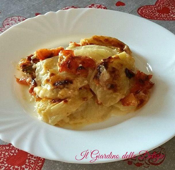 Parmigiana+di+finocchi+e+pomodoro