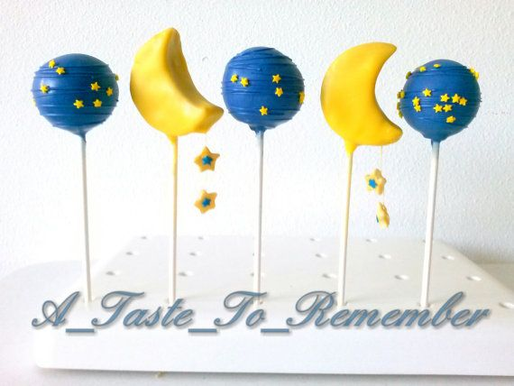 Twinkle Twinkle Little Star Baby Shower Cake by ATasteToRemember