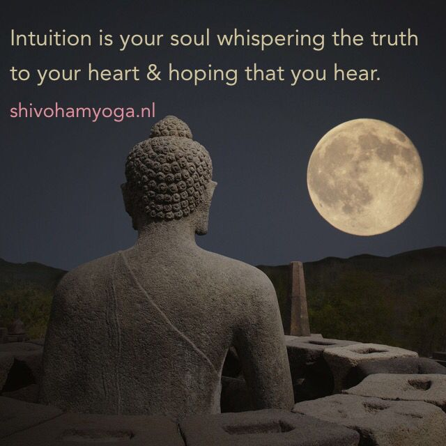 Intuition is your soul whispering the truth ♡ http://www.shivohamyoga.nl/ • #inspiration #quotes #zen #love #yoga #wisdom #ShivohamYoga #namaste #om ॐ