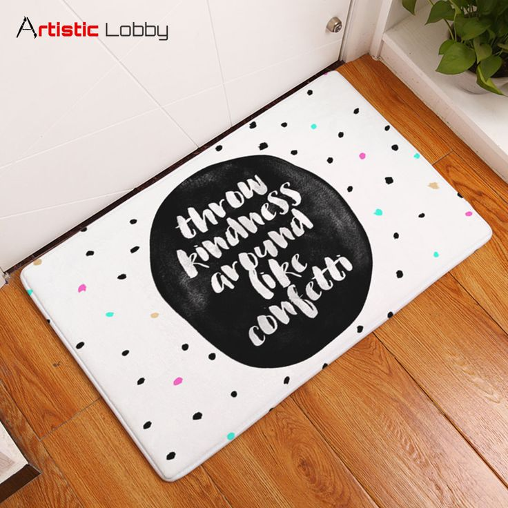 Colorful Words Anti-Slip Floor Mats. Tag a friend who needs this! 😍  📦 Worldwide Shipping 🔥 Extremely high demand! 🔺 GET YOURS VIA LINK IN BIO 💡 Follow Artistic Lobby for more ideas!   #homedecor #home #homedesign #homedecordesign #homedesignideas #decoration #art #artoftheday #life #lifestyle #lifestyleblogger #words #floormat #love #happiness #instalove #nye