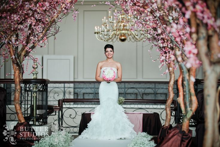 Weddings - Cherry blossom bride...