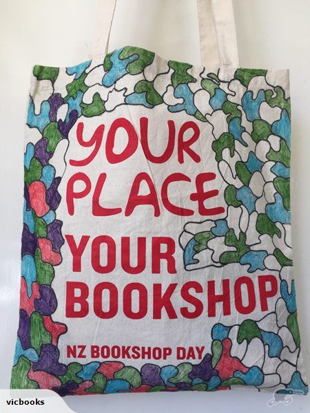 To celebrate NZ Bookshop Day and in support of NZ schools Vic Books are auctioning off this beautifully illustrated 'Your Place Your Bookshop' bag from Booksellers NZ, packed full of amazing books!   All proceeds will go to the NZ school of your choice. They will get to pick from the huge range of titles to the final value bid.
