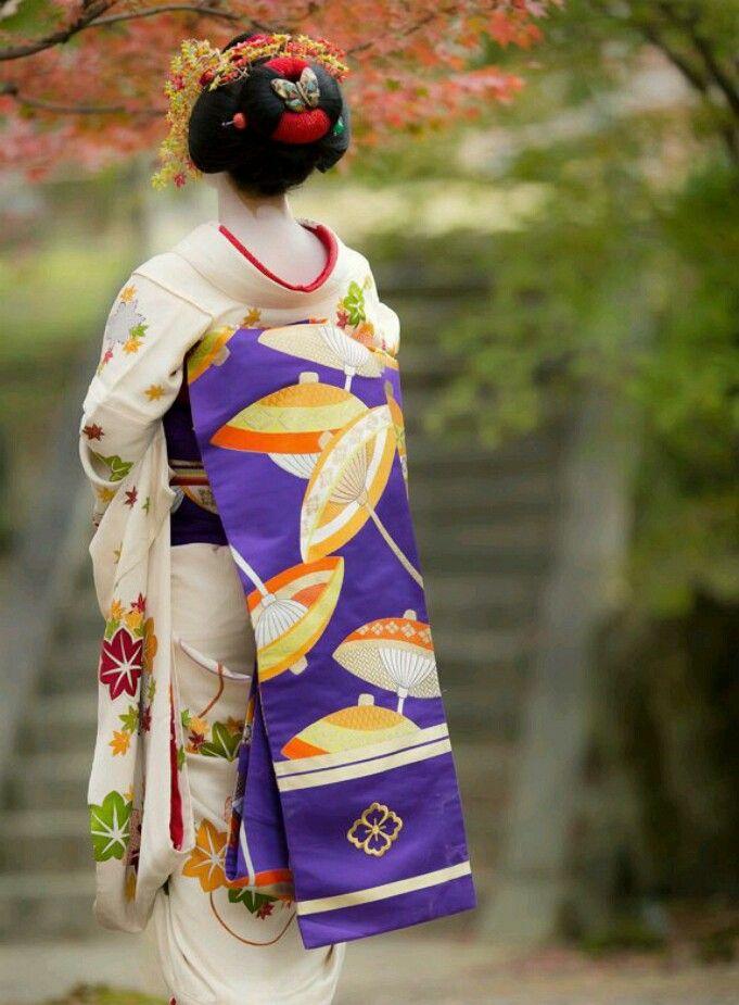 Maiko, Kyoto, Japan.
