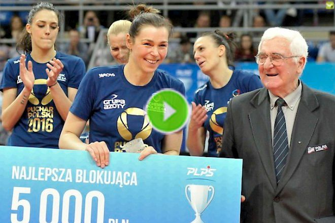 Multimedia: Katarzyna Gajgał-Anioł , trochę o emocjach Pucharu Polski.