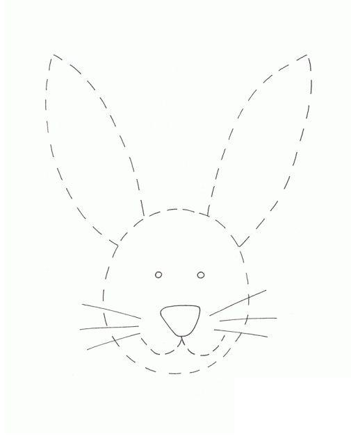 tavşan çizgi çalışması