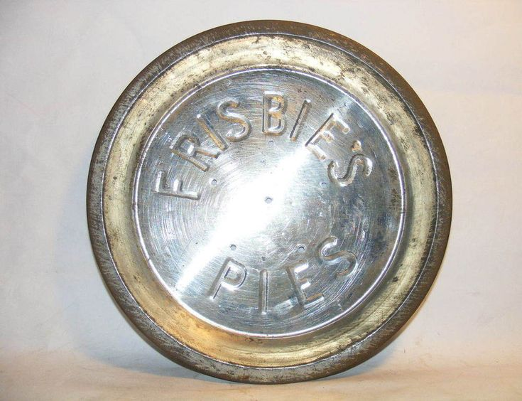 Frisbie's Pie Tin Original Frisbee Disc Rare exceptional condition