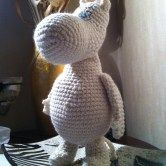 crochet toy pattern free - Moomin 2