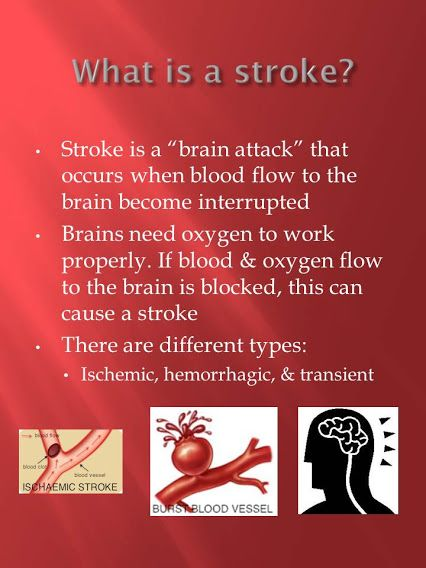 May is Stroke Awareness Month! Did you know there are different types of Strokes?