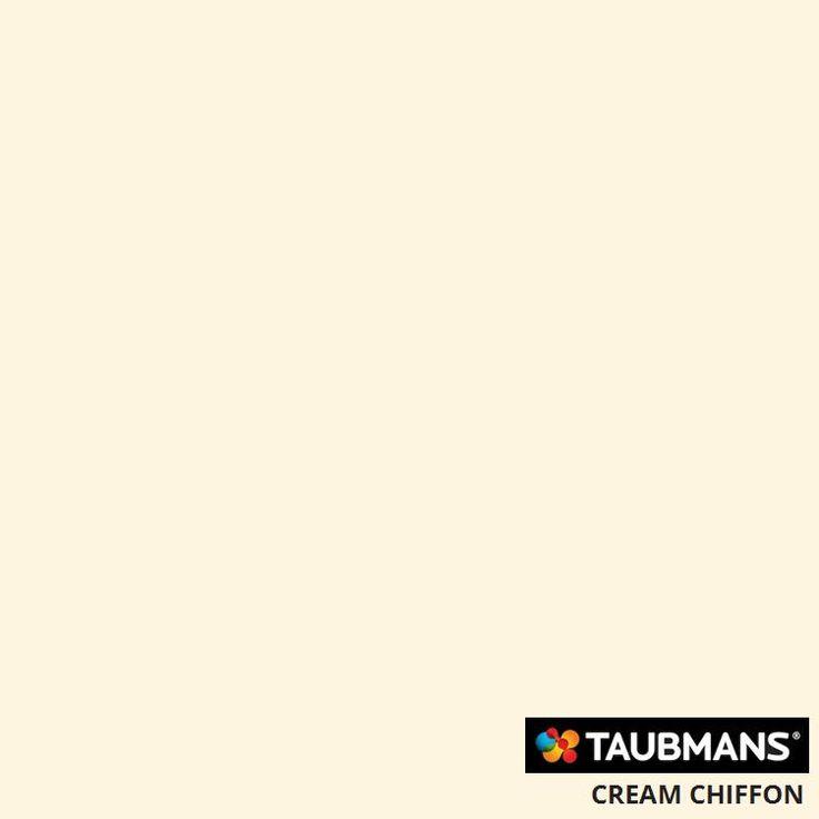 #Taubmanscolour #creamchiffon