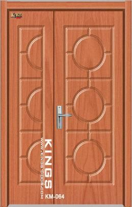 MDF PVC DOORMAIN DOOR (KM-064) - China MAIN DOOR : door kings - Pezcame.Com