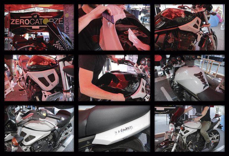 Rotulación de Motocicleta Suzuki