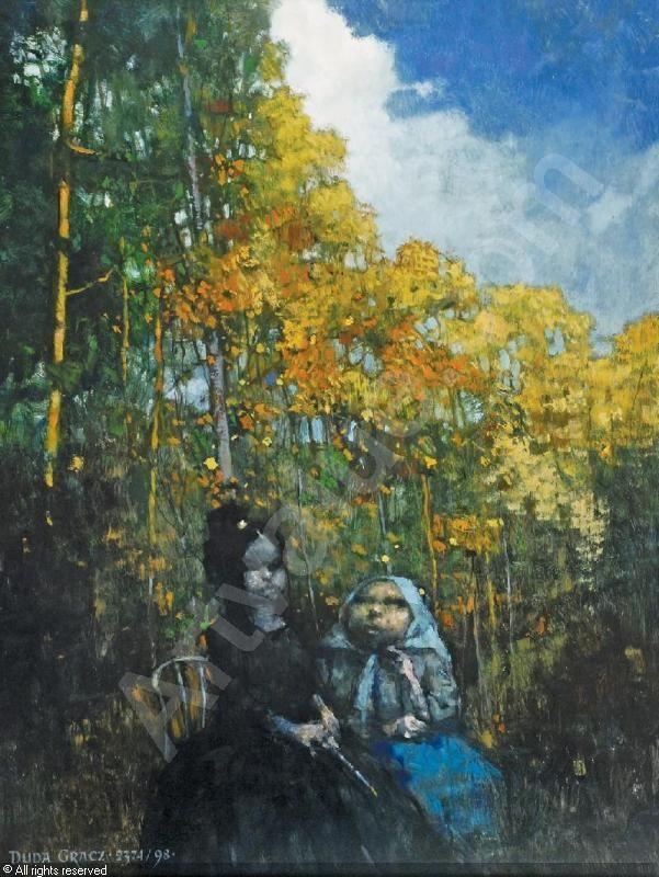 Obraz 2374, (Lagow-Spuscizna), 1998 sold by Rempex, Warszawa, on Wednesday, May 15, 2013