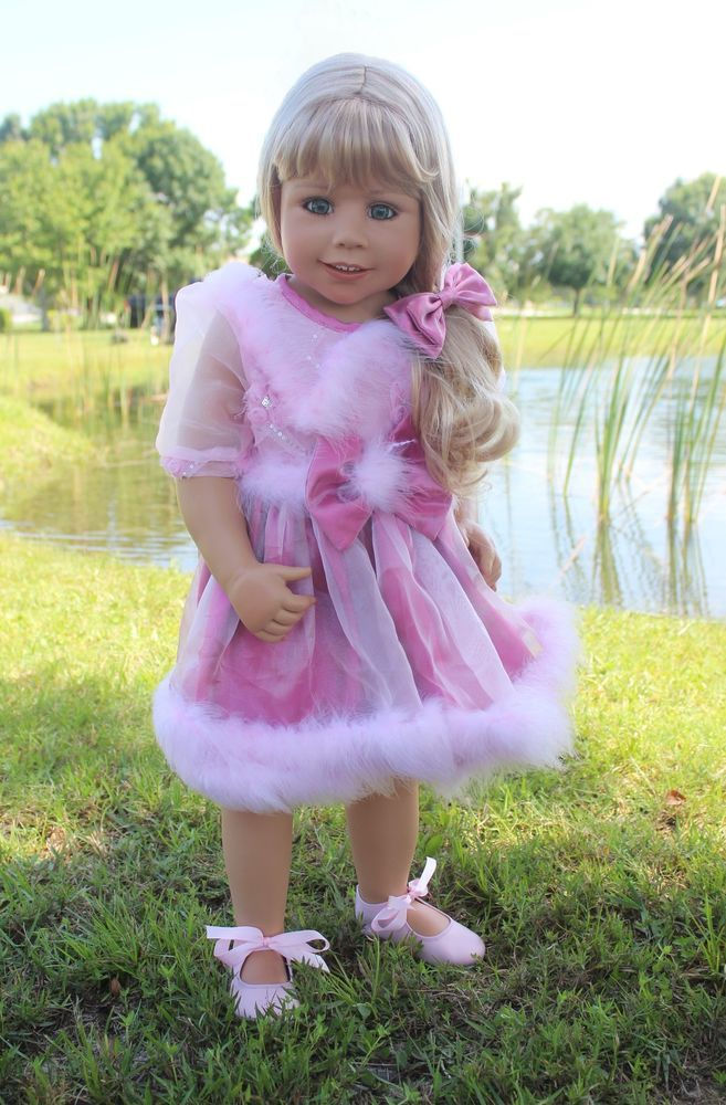 "NWT Masterpiece Dolls Abigail RARE Blonde Green Eyes By Monika Levenig 34"""