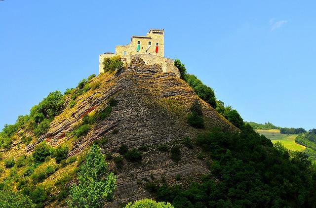 Castello da Varano, Camerino, Le Marche, Italy